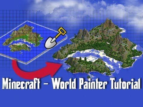 World Painter TUTORIAL - How To Create Custom Minecraft Maps ...