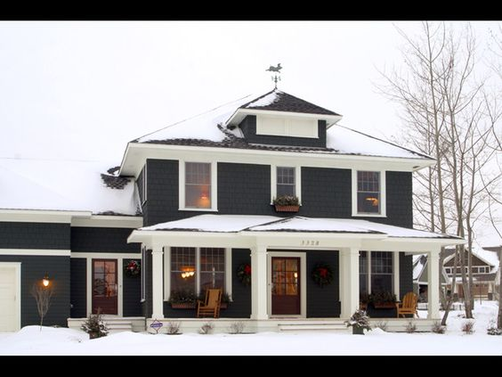 Calling it home traditional four square and snow for American classic homes mn
