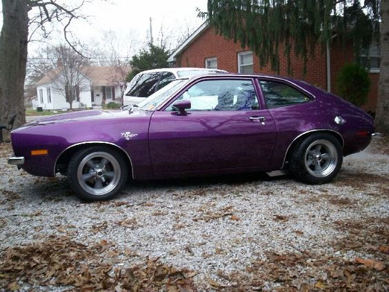 low and mean, 1972 Ford Pinto.