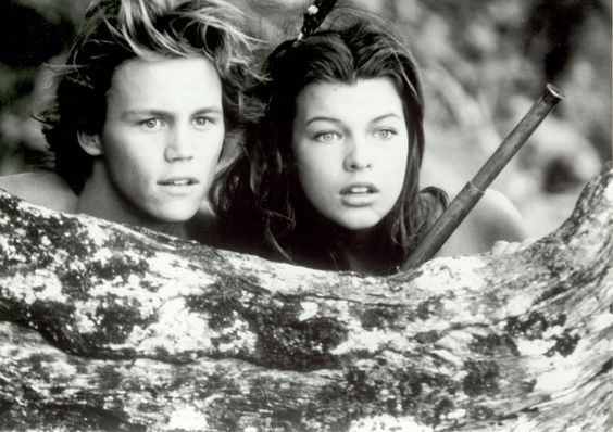 Milla Jovovich, Brian Krause - Return to the Blue Lagoon ...
