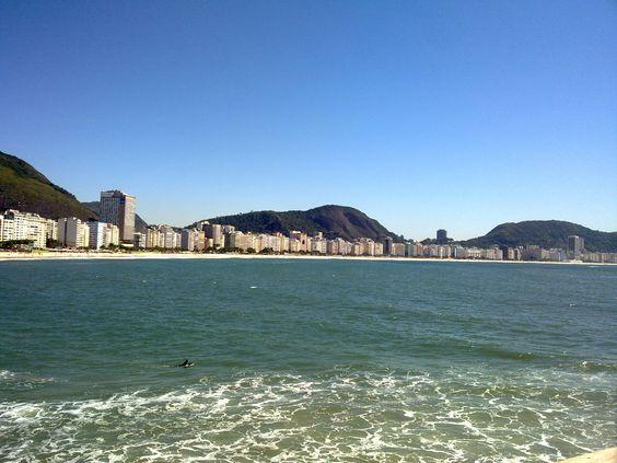 Praia de Copacabana - Copacabana beach - Foto - Photo - GOJ