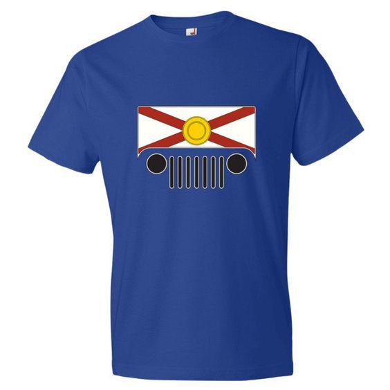 Florida Flag Jeep Short sleeve t-shirt
