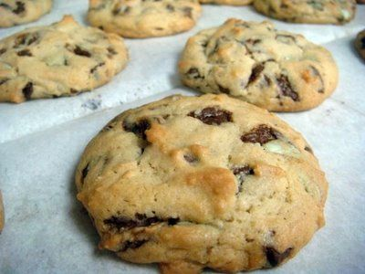 Check it out: Andes Chocolate Chip Cookies