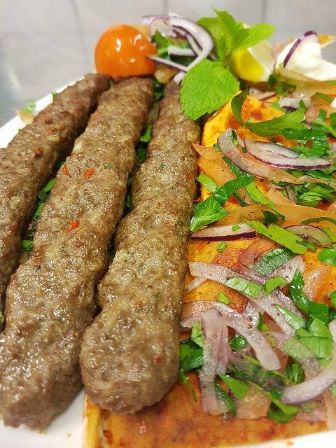 طريقة تحضير الكباب اللحم المشوي في المنزل الكفتة المشوية Food Sausage Meat