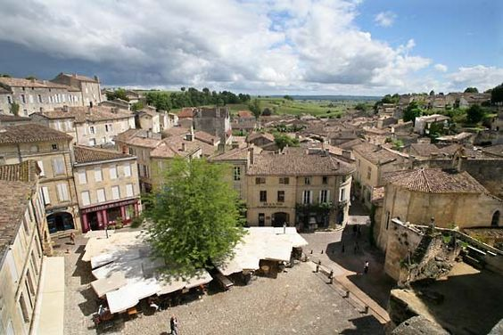 Read a great article about wine tasting in Saint-Emilion, France,  which is close to the town of Bordeaux but without the traffic.