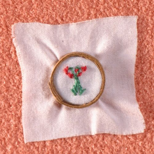 Embroidery Ring - Floral