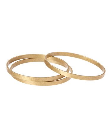 Bronze Bangles - Set of Three