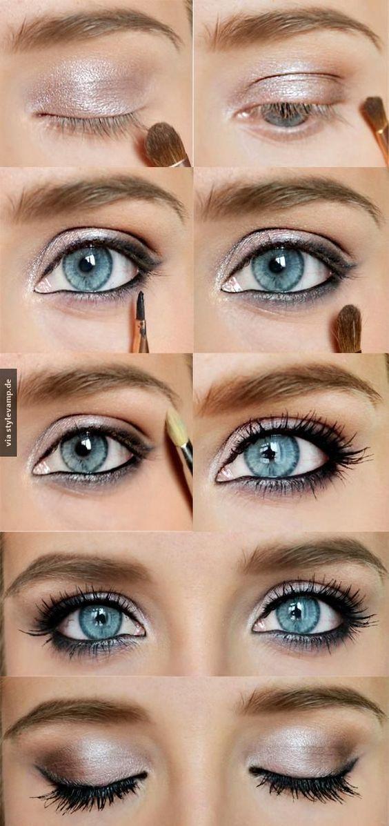 Betonte Augen
