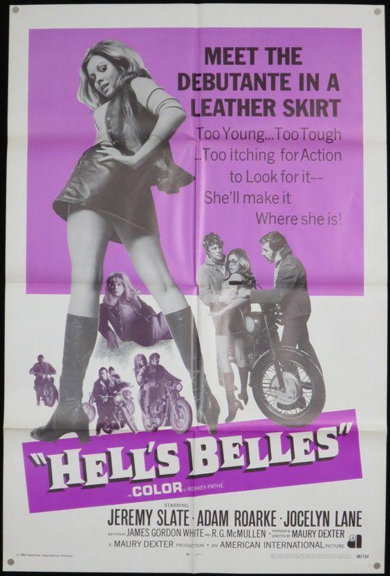 HELL'S BELLES  Rare Original 1 Sheet Movie by ScreenlandMoviepaper