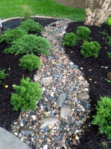 River Rock Garden Ideas Corner Rock Garden Ideas White Rock