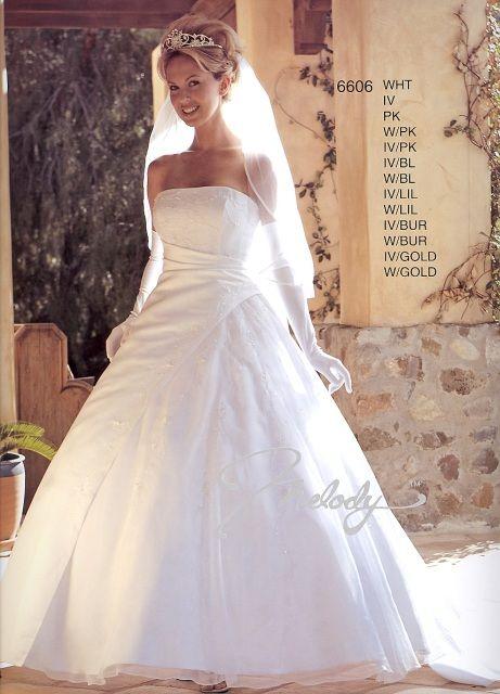 MELODY BRIDAL 6606 Talla 8 - De noviaa novia