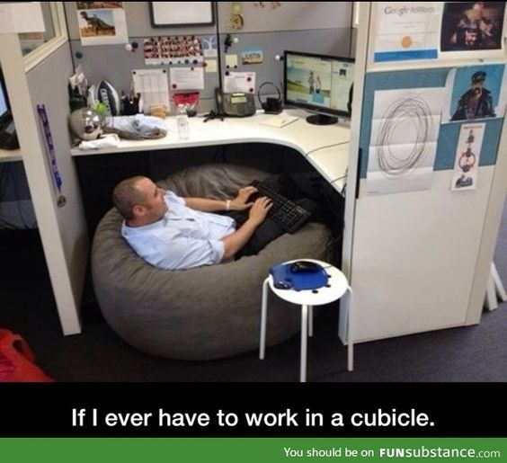 Cubicle Setup Love It Pinterest Cubicles And Fun