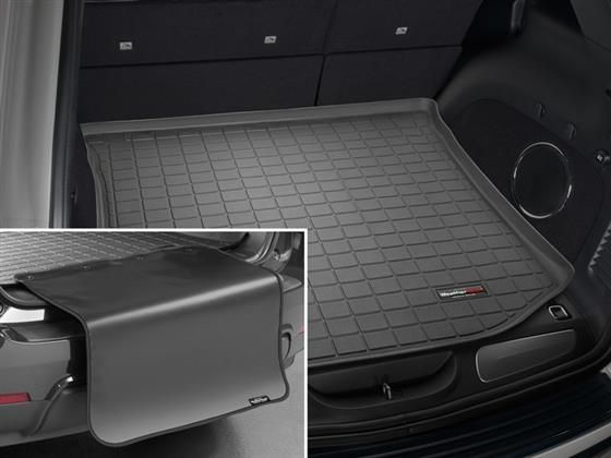 Picture Of Weathertech Usa 40469sk Cargo Area Liner Weather Tech Jeep Grand Cherokee Cargo Liner