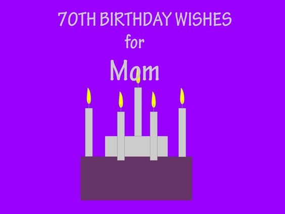 What are some 70th birthday wishes?