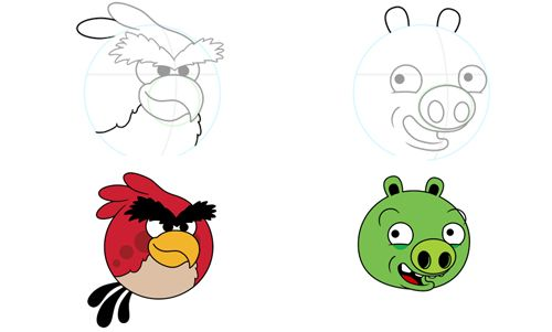 Angry Birds, How To Draw And To Draw On Pinterest