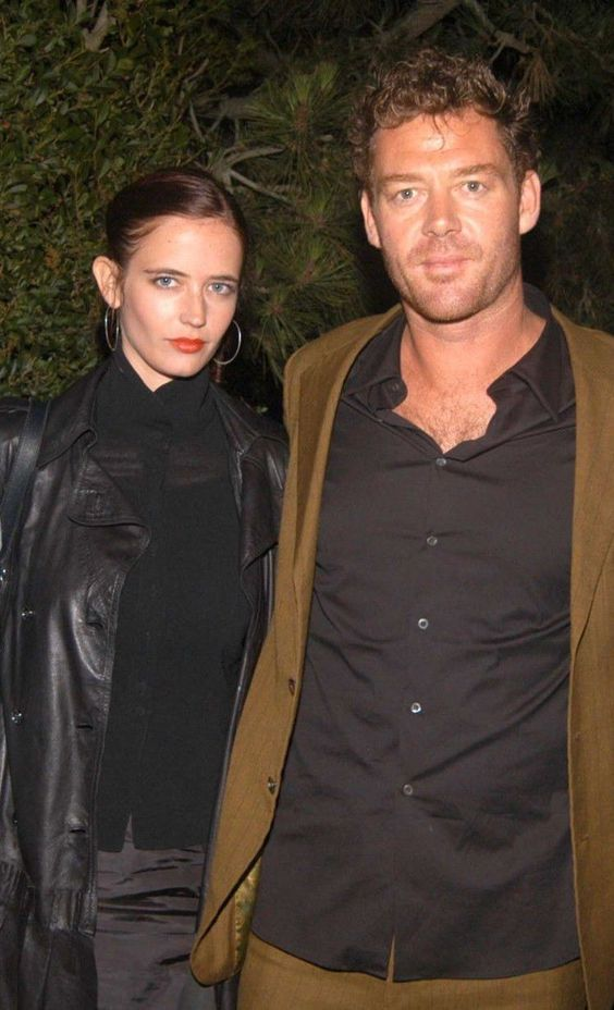 Eva Green with her boyfriend Marton Csokas