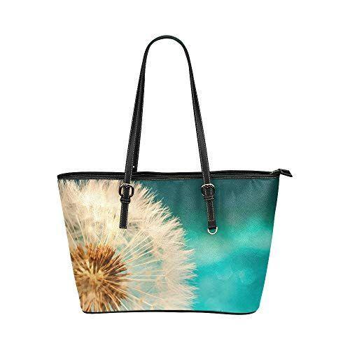 Mr.Weng Household Plant Lady Handbag Tote Bag Zipper Shoulder Bag
