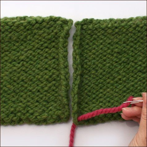 Knitting Stitches Reverse Stockinette : Stockinette, Mattress and Stitches on Pinterest
