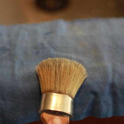 Chalk Paint Brush Care Basics