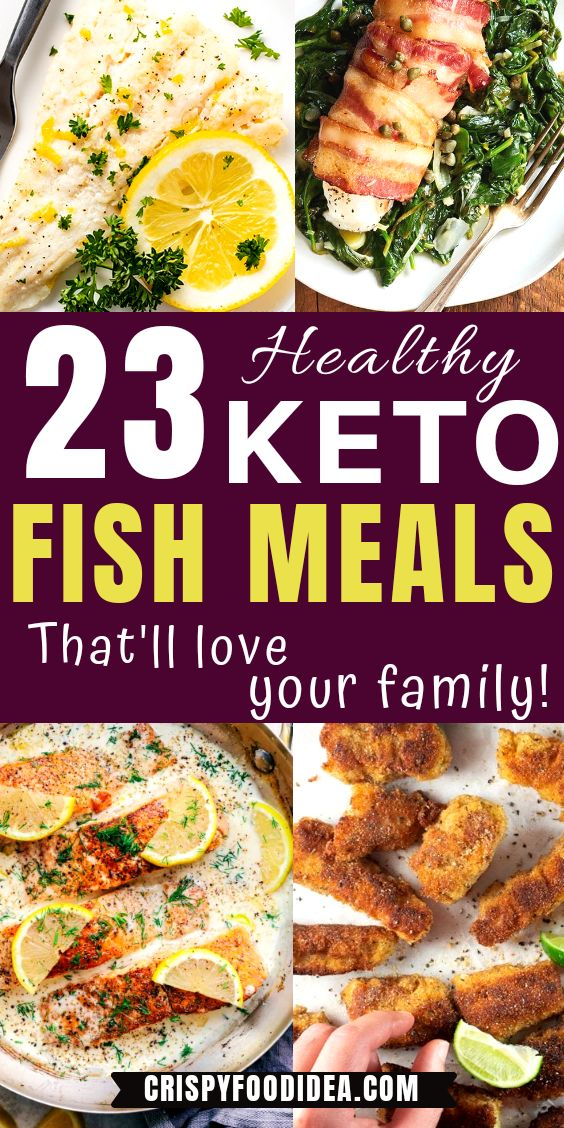 Keto Fish Meals Pinterest