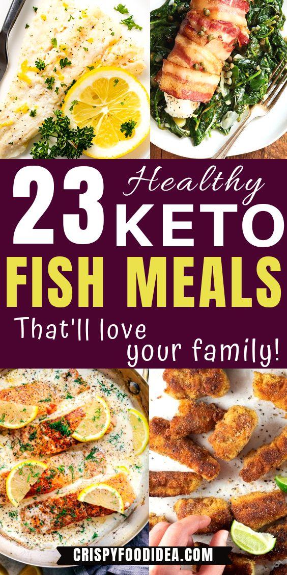 Keto Fish Meals Pinterest