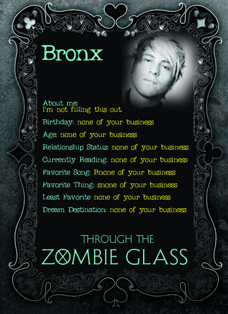 Through the Zombieglass Blog Tour and Giveaways
