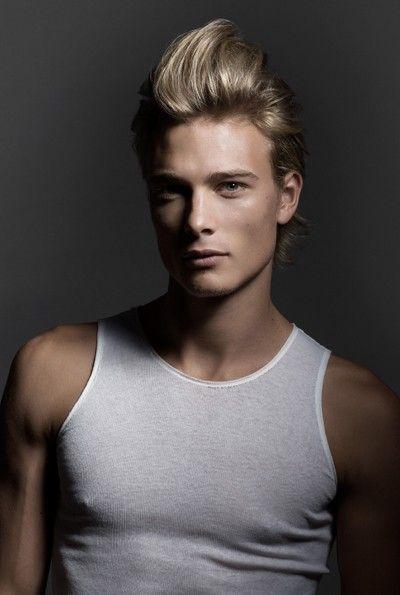 Blonde Pompadour Men S Hair Hair Pinterest Hair