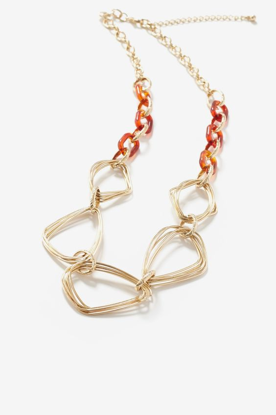 Tort & Link Statement Necklace by Ava at Le Tote