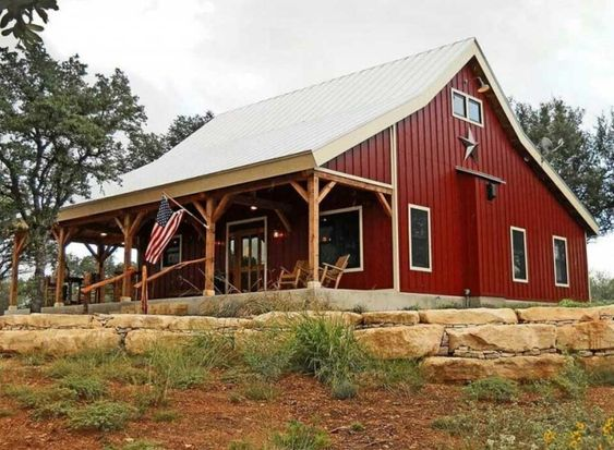 The 10 Most Beautiful Metal Building Homes on Pinterest - GBE