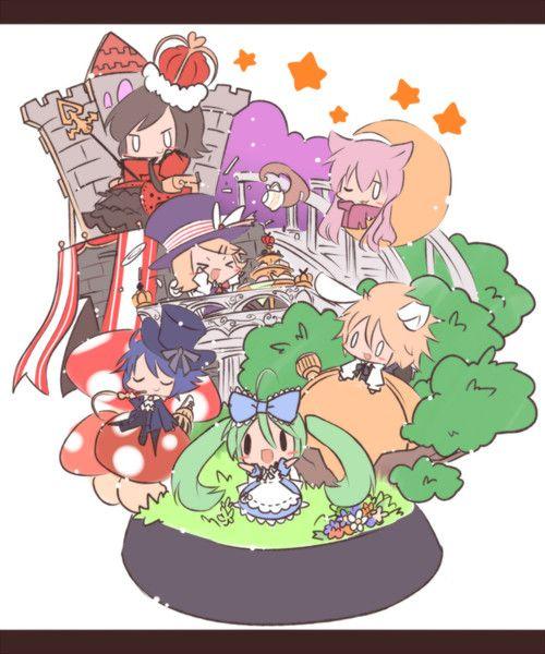 Alice in Musicland  VOCALOID  Zerochan Anime Image Board
