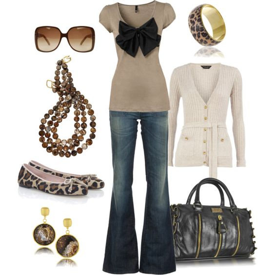animal print, created by htotheb on Polyvore