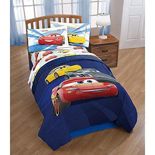 Cars Lightning Mcqueen Boys Kids Twin Comforter Sheets K 4