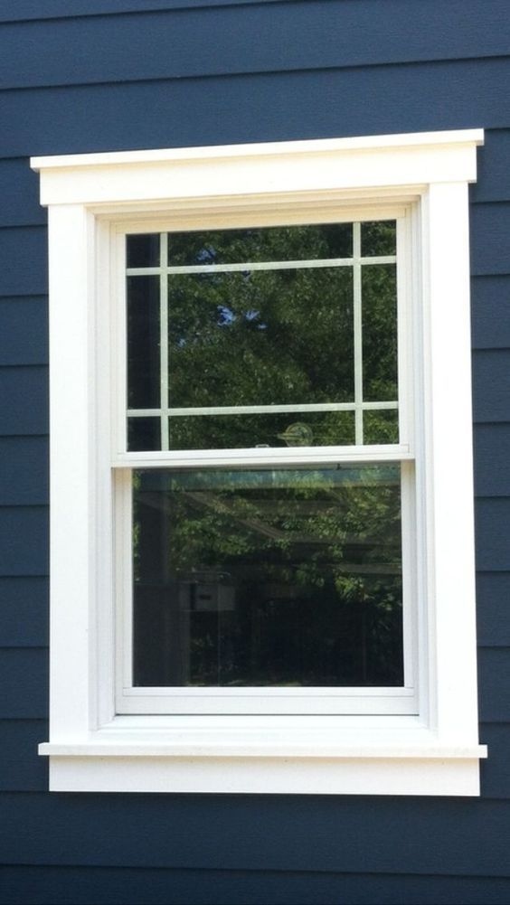 If You Want To Spruce Up A Dull Room Or If You Simply Love The Craftsman Style Roll Up Your Sleeves And Le Window Trim Exterior House Trim Craftsman Exterior