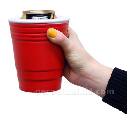 KOOL KOOZIES RED CUP: Cup Koozie, Cup Coozie, Gag Gift, Koozie Red, Gift Ideas, Red Solo Cup, Beer Koozie