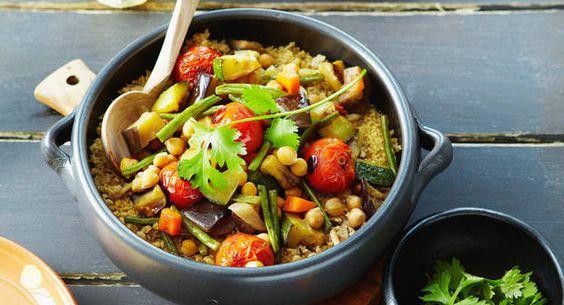Couscous MaqfoulVoir la recette >>