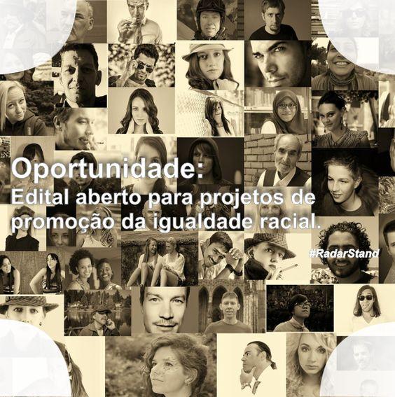 Secretaria de Políticas de Promoção da Igualdade Racial está com Chamada Pública aberta para implantar o Sistema Nacional de Promoção da Igualdade Racial.