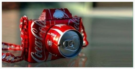 Coca-Cola camera (for anyone that knows my mom ;) )