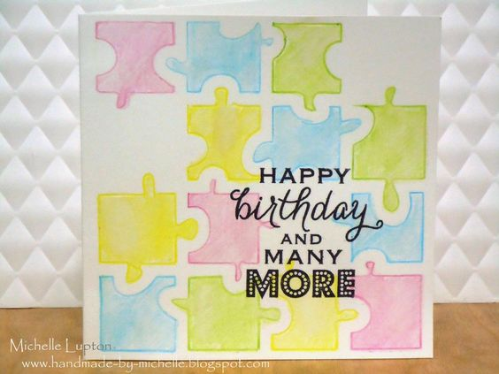 Handmade by Michelle: A quick birthday card