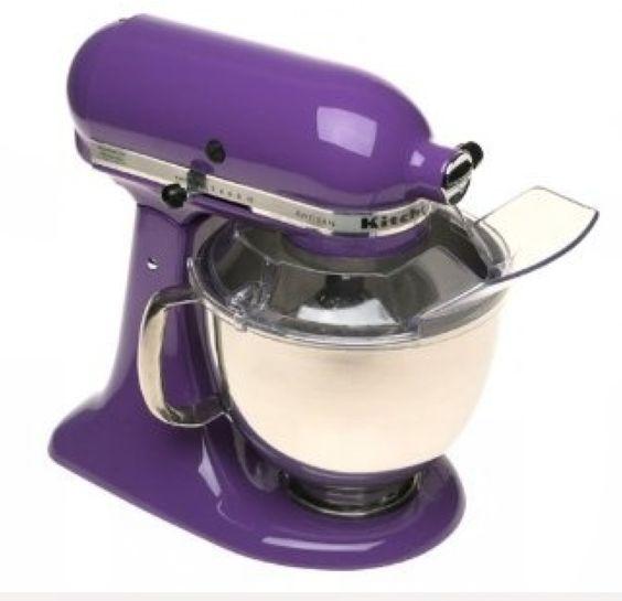 Colors Kitchenaid And Purple On Pinterest