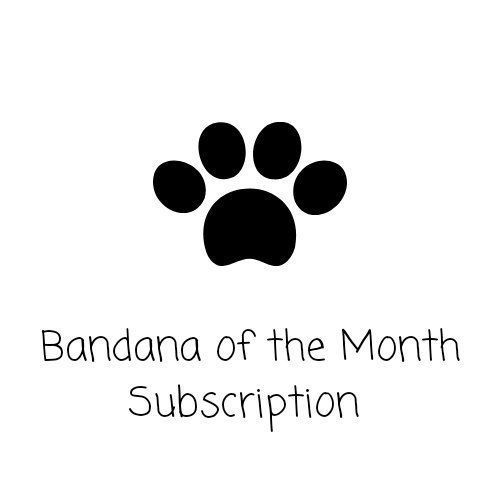 Bandana Of The Month Subscription For Dogs Or Cast 3 6 Or 12 Months Pet Subscription Slice On Bandanas Bandana Of The Month Club Pet Toysharesubscriptions Bandana Pet Scarf Dog Subscription