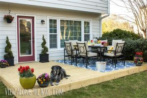 View Along the Way, wooden deck, Outdoor Trends, Outdoor Decor, Outdoor Living, Summer, Design & Style