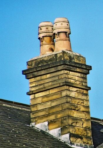 Unusual Bullet Chimney Pots