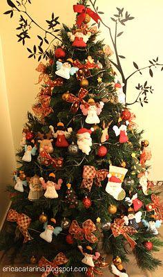 cute felt christmas tree ornaments