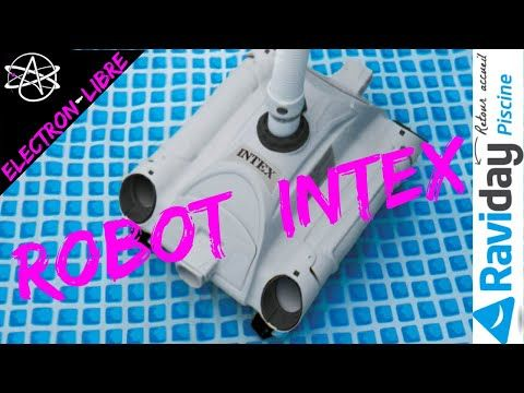 Robot Nettoyeur De Fond De Piscine Intex Youtube