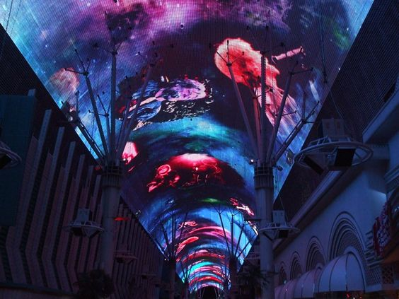 Fremont Street Experience Light Show 12 Million Lights Put To Music A Stunning Show Fremont Street Experience Fremont Street Fremont