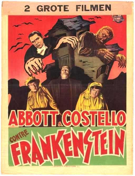 Abbott And Costello Meet Frankenstein 1948 Supernatural Films