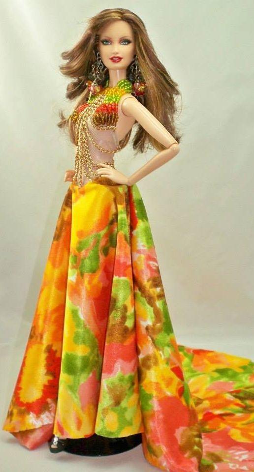 barbie gowns ..reinadolls Cuba 12 25 3