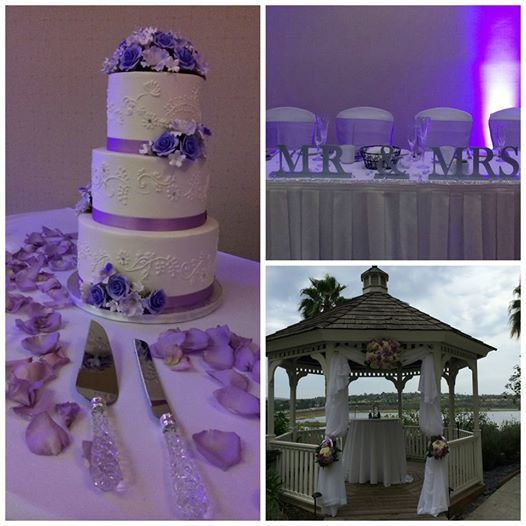 We had the pleasure of hosting a fun, sweet and very purple wedding. Congratulations to the happy couple! #marriedatmarriott