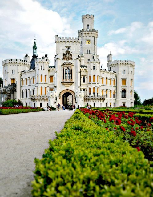 The charming Jihocesky Castle in the Czech Republic.