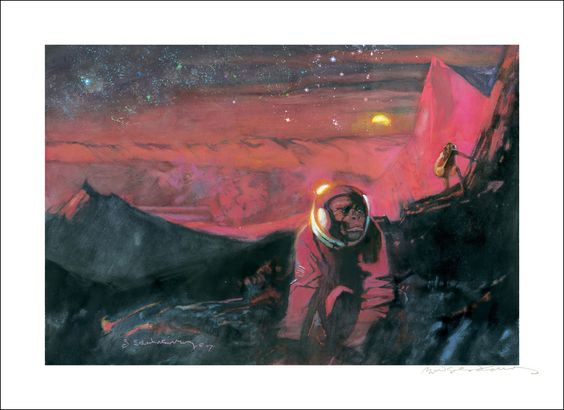Bill Sinkevitch: Robinson Crusoe on Mars Art Print - Shop - The Criterion Collection